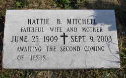 Hattie B Mitchell