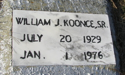 William J Koonce Senior