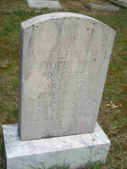Lee, Mary Hartsell