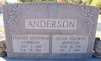 Anderson, Sanford and Bessie Wellman